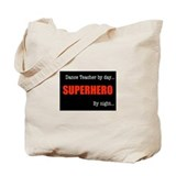 Superhero Dance Teacher Tote Bag