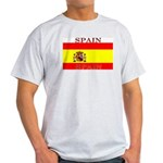 Spain Spanish Flag Ash Grey T-Shirt