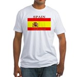 Spain Spanish Flag Fitted T-Shirt