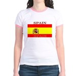 Spain Spanish Flag Jr. Ringer T-Shirt