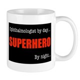 Superhero Ophthalmologist Mug
