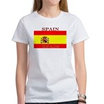 Spain Spanish Flag Women's T-Shirt
