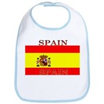 Spain Spanish Flag Bib