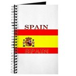 Spain Spanish Flag Journal