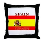 Spain Spanish Flag Throw Pillow