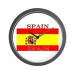 Spain Spanish Flag Wall Clock