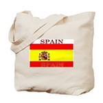 Spain Spanish Flag Tote Bag
