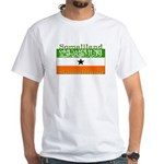 Somaliland Somali Flag White T-Shirt