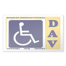 Disabled Vets Decal
