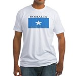 Somalia Somali Flag Fitted T-Shirt