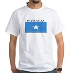 Somalia Somali Flag White T-Shirt