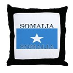 Somalia Somali Flag Throw Pillow