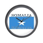 Somalia Somali Flag Wall Clock