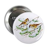 "Tufted Titmouse 2.25"" Button (100 pack)"