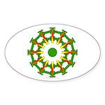 Sparkhenge Oval Sticker (10 pk)