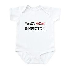 World's Hottest Inspector Infant Bodysuit