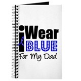 I Wear Blue (Dad) Journal