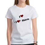 i heart i heart shirts Women's T-Shirt