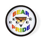 Bear Pride Wall Clock
