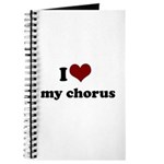 i heart my chorus Journal