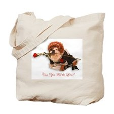 Feel The Love Tote Bag