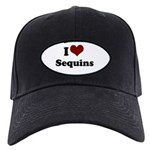 i heart sequins Black Cap