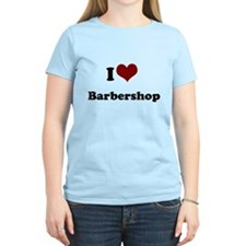 i heart barbershop Women's Light T-Shirt