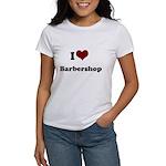 i heart barbershop Women's T-Shirt