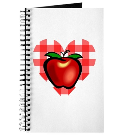 Checkered Tablecloth Apple He Journal