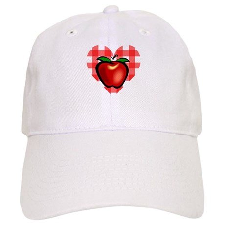 Checkered Tablecloth Apple He Cap
