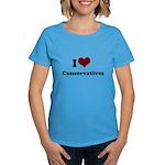 i heart conservatives Women's Dark T-Shirt