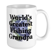 """Greatest Fishing Grandpa"" Mug"