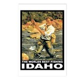 Idaho Fishing Postcards (Package of 8)