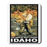 Idaho Fishing Mousepad