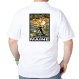 Maine Fishing  T-Shirt