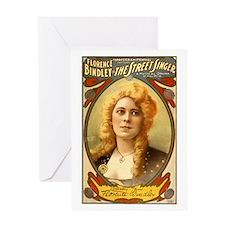 Florence Bindley Actress Greeting Card