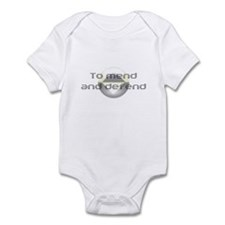 To Mend and Defend Infant Bodysuit