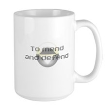 To Mend and Defend Mug