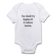 Logging off Infant Bodysuit