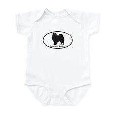 AMERICAN ESKIMO Infant Bodysuit