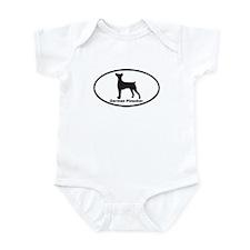 GERMAN PINSCHER Infant Bodysuit
