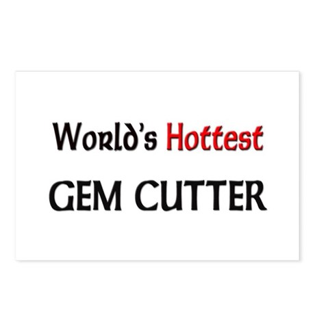 World's Hottest Gem Cutter Postcards (Package of 8