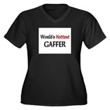 World's Hottest Gaffer Women's Plus Size V-Neck Da