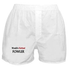 World's Hottest Fowler Boxer Shorts