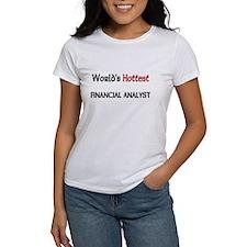 World's Hottest Financial Analyst Women's T-Shirt