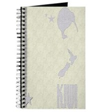New Zealand Vintage Striped K Journal