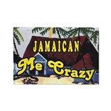 Jamaican Me crazy Rectangle Magnet (10 pack)