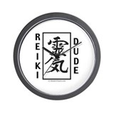 Reiki Dude Wall Clock