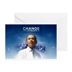 Change We Can Believe In - Obama Greeting Cards (P