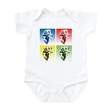 Flat-Coat Pop Art Infant Bodysuit